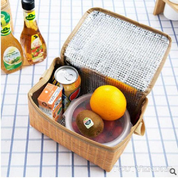 Boîte à lunch thermique isotherme sac fourre-tout cooler