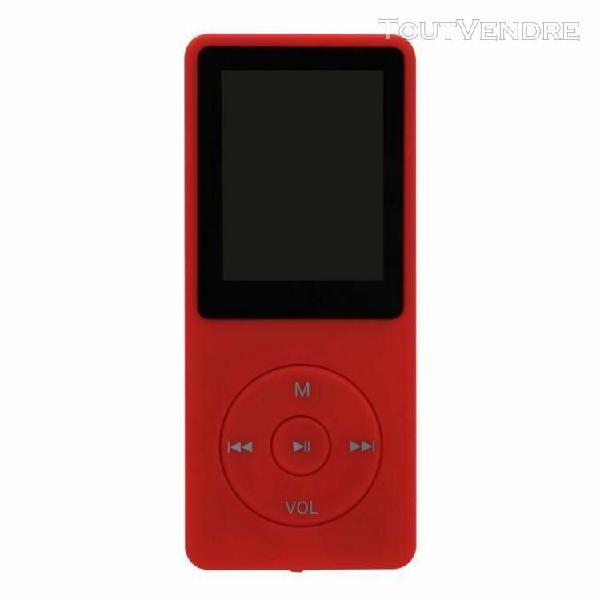 Luievein®4 go mini slim numérique mp3 mp4 player jeux