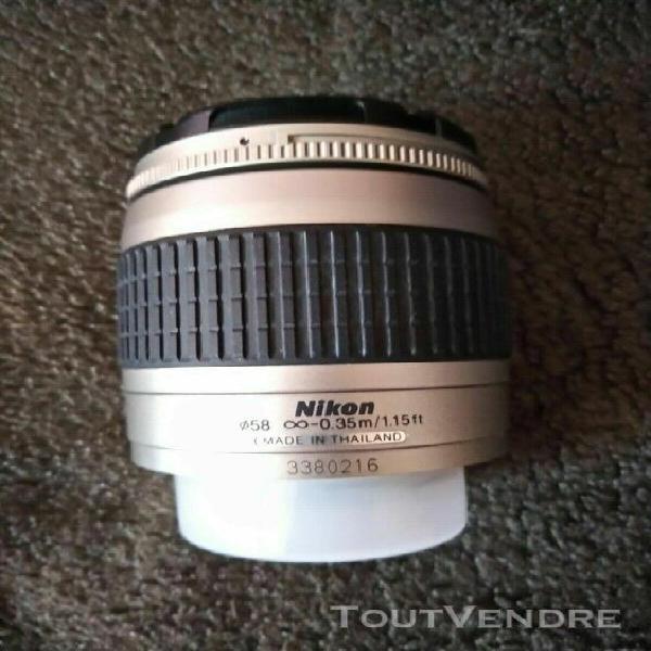 Nikon af nikkor 28-80 mm 1:3.3-5.6 argent-neuf