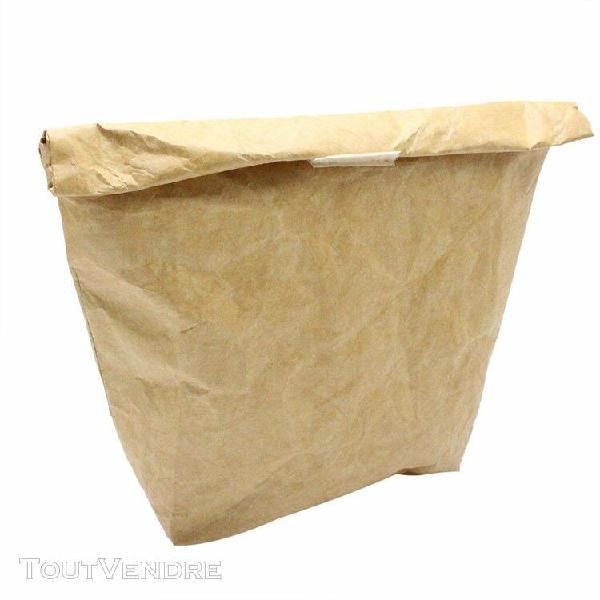 papier réutilisable sac déjeuner durable isothermiques