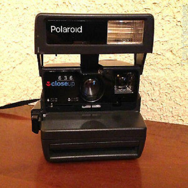 """Polaroid 636 close up """" obturateur electronique, tbe !!"""