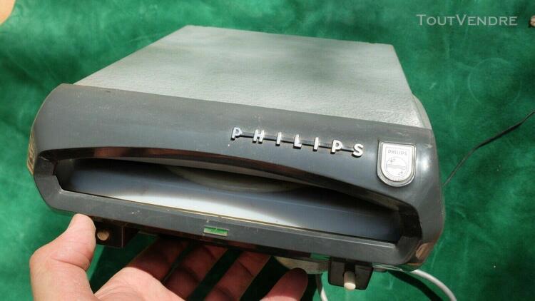 Rare tourne disque 45t pour automobile, platine philips aut
