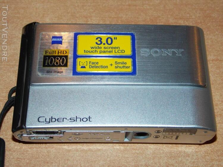 Appareil photo numerique sony - cyber shot dsc t70