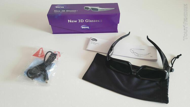Benq dgd24 - news 3d glasses ii - lunettes 3d dp link -
