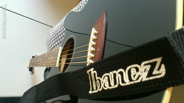 Guitare ibanez tcy10e talman noir électro