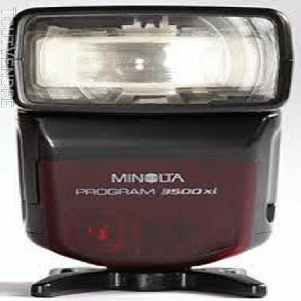 Minolta program 3500xi - flash pour minolta dynax