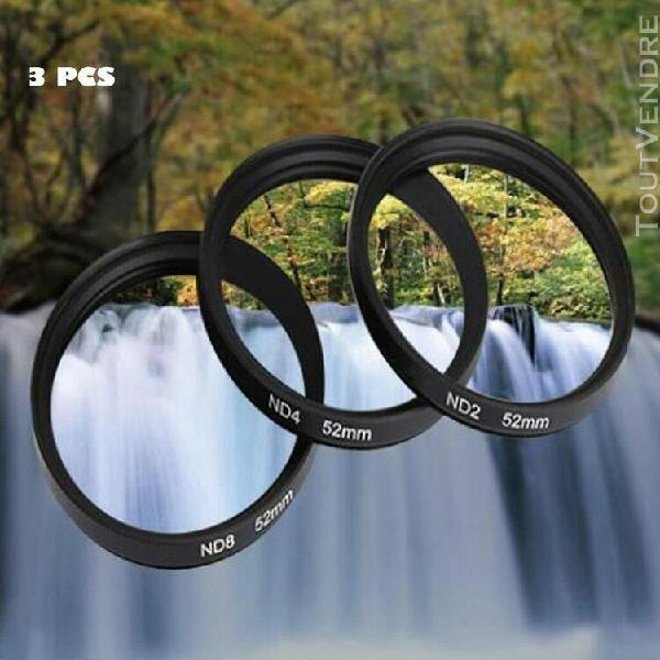 Shun yi 58mm densité neutre nd2 nd4 nd8 kits de filtre pour