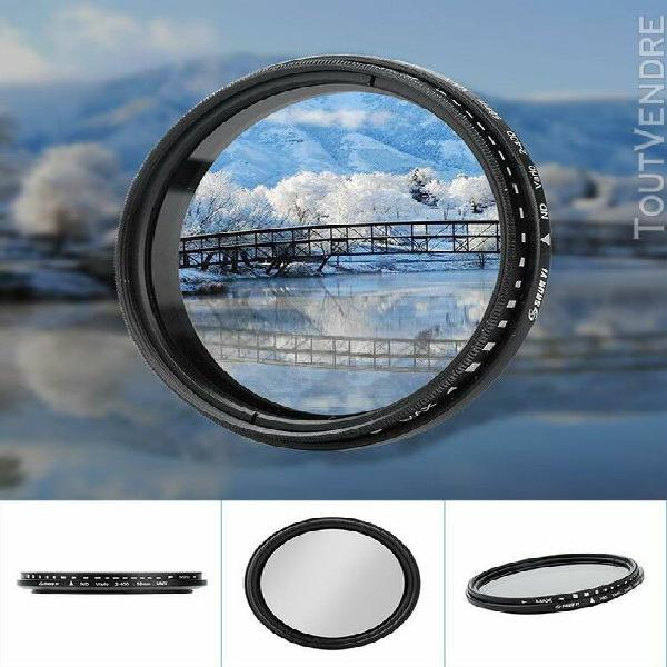 Shun yi nd2-400 58mm réglable densité neutre fader filtre