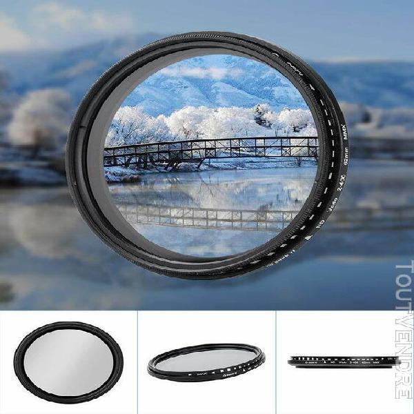 Shun yi nd2-400 62mm réglable densité neutre fader filtre