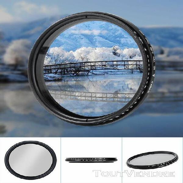 Shun yi nd2-400 72mm réglable densité neutre fader filtre