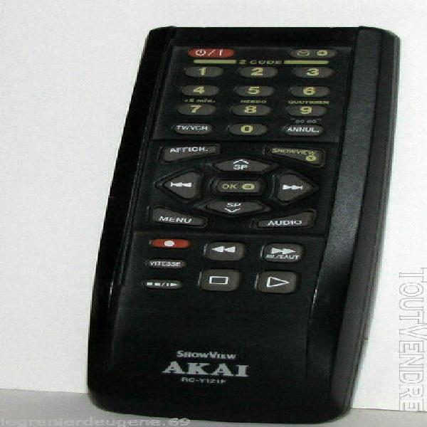 Télécommande d'origine / original remote akai rc-y121f =>