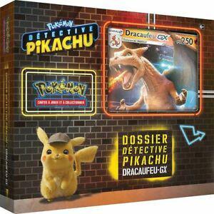 1 coffret pokémon détective pikachu dracaufeu gx (6 ans+)