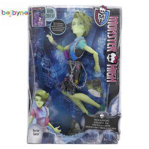 1 poupée mannequin monster high - porter geiss (6 ans+)