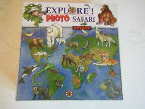 Jeu société patrix français anglais explore photo safari