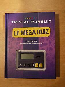 Le méga quiz trivial pursuit: 1 000 questions pour votre