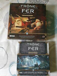 Le trône de fer jce lcg - seconde edition - kit demarrage +