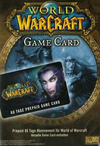 World of warcraft - carte prépayée 60 jours [import