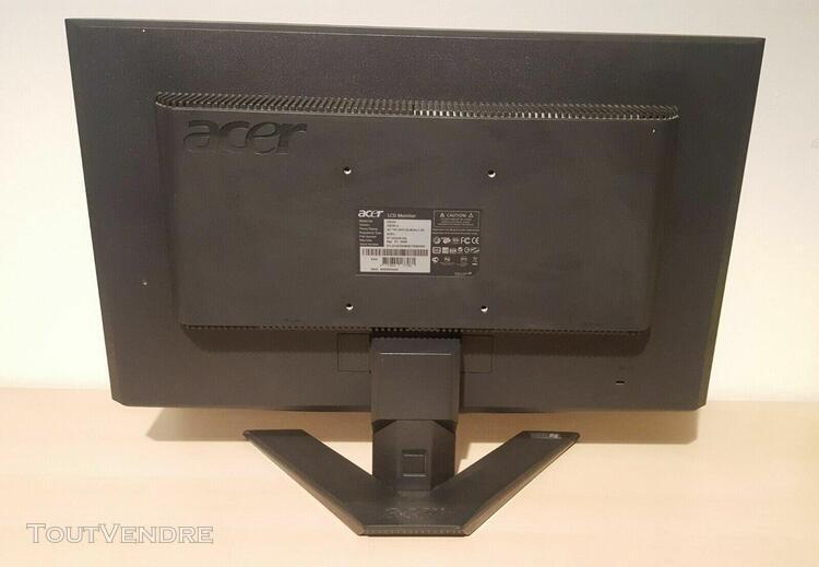 Acer: écran x203h, clavier, souris
