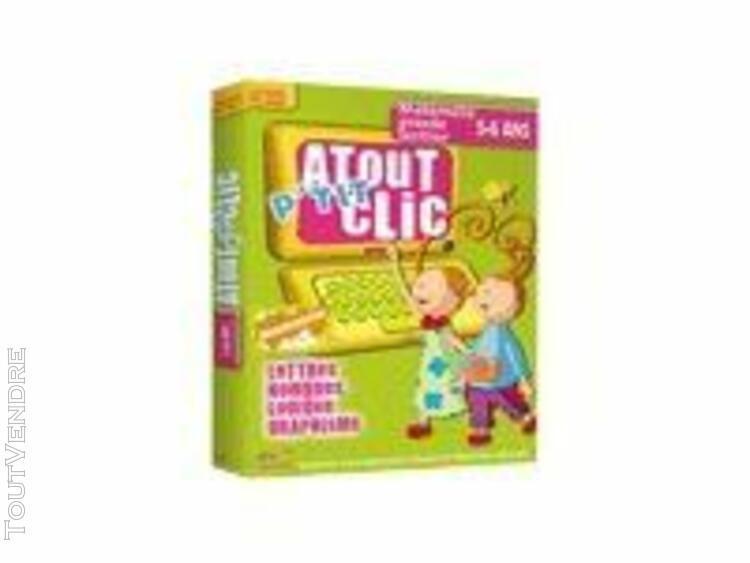 Atout clic p'tit clic 5-6 ans: maternelle grande section -
