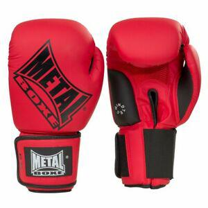 Gants de boxe super entrainement/ compétition rouge 12oz -