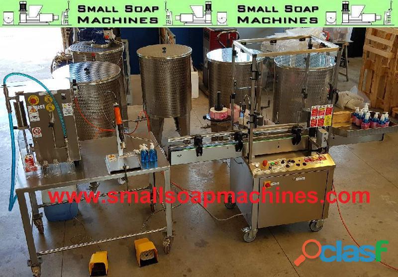 Machines pour savon liquide