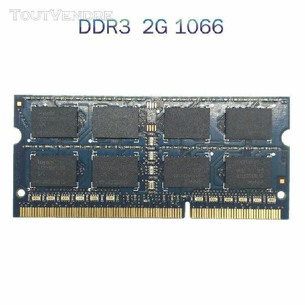 Mémoire d'ordinateur portable notebook ram ddr3 2 go
