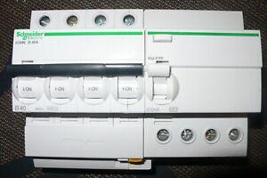 Disjoncteur 4 poles 40a 300ma. a9f76440 differentiel