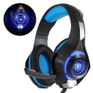 Beexcellent gm-1 casque gaming ps4, gamer avec micro premium