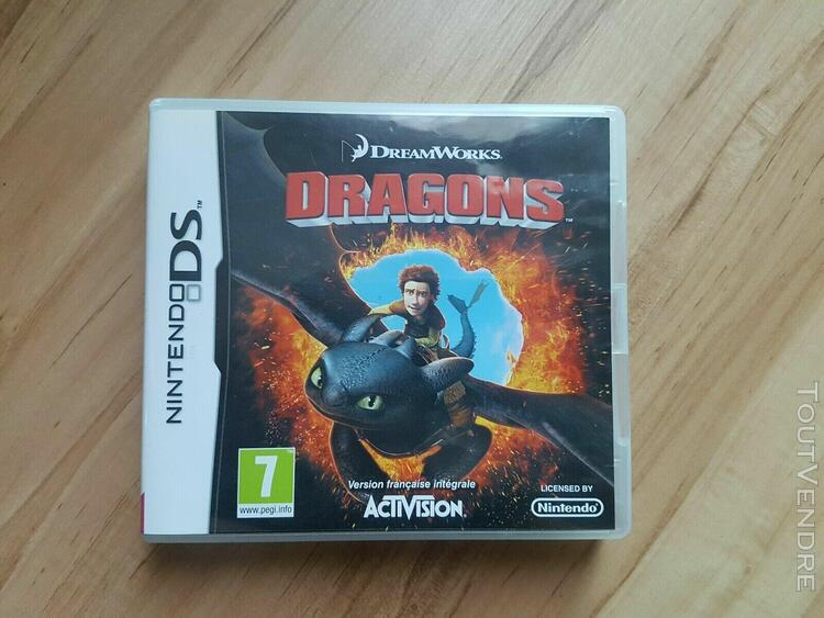 Dragons jeu ds dream works complet version francaise très