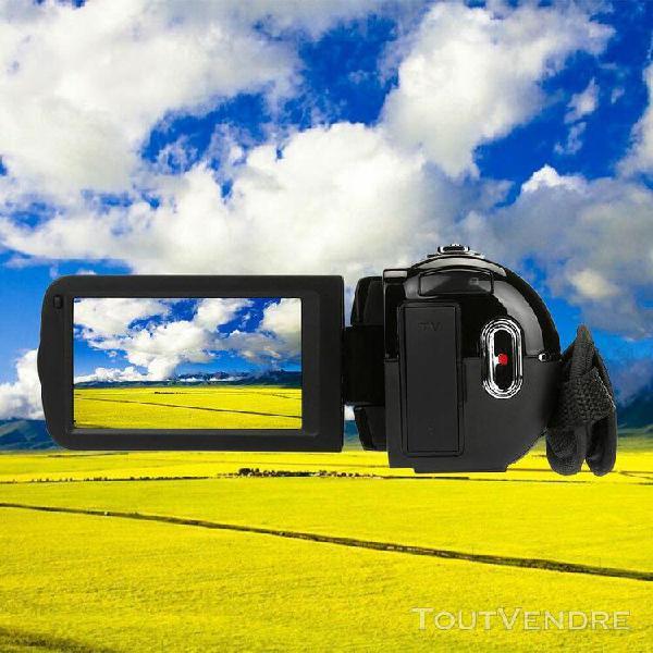 Full hd 1080p 24mp appareil photo numérique caméscope dv