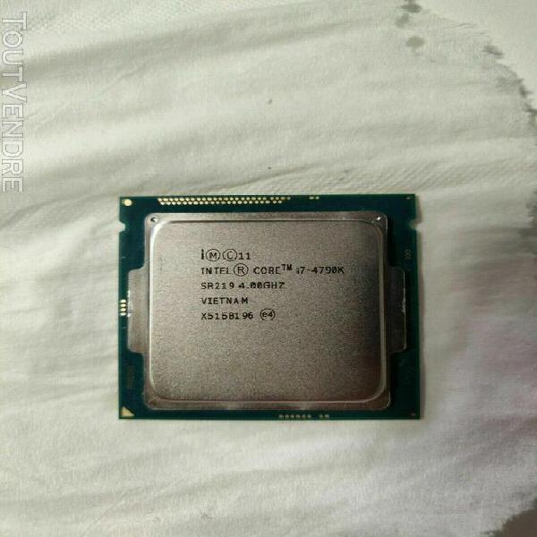 Intel core i7-4790k 4.00 ghz quad-core lga1150 sr219 cpu pro