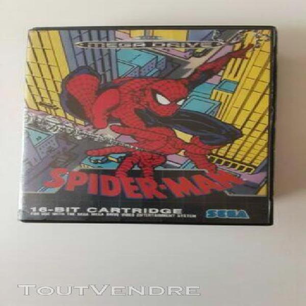 Jeu spider-man pour sega mega drive (avec notice) pal