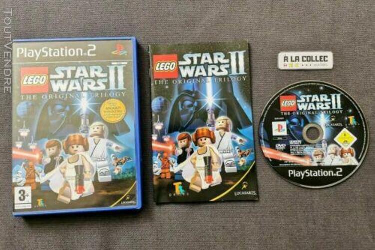 Lego star wars ii 2 the original trilogy | jeu sony ps2 en e