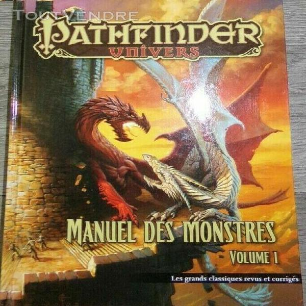 Pathfinder manuel des monstres 1 - les grands classiques rev