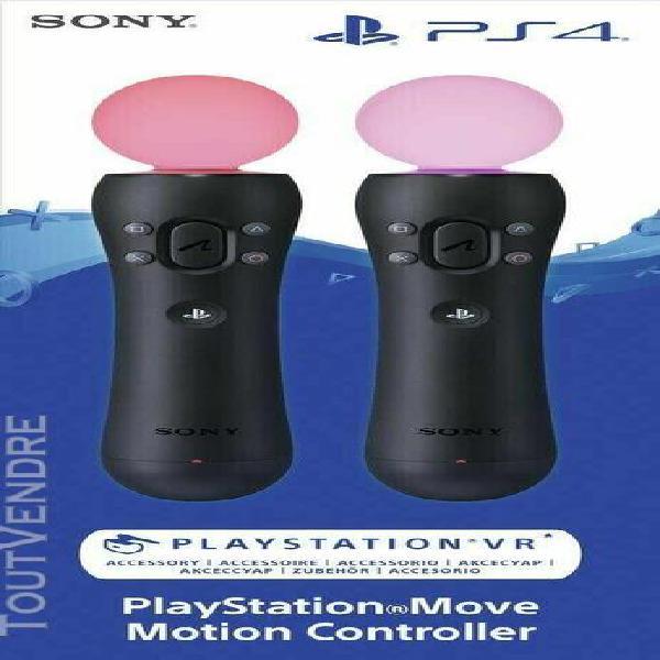 Playstation vr starter pack + 2 manettes move- playstation 4