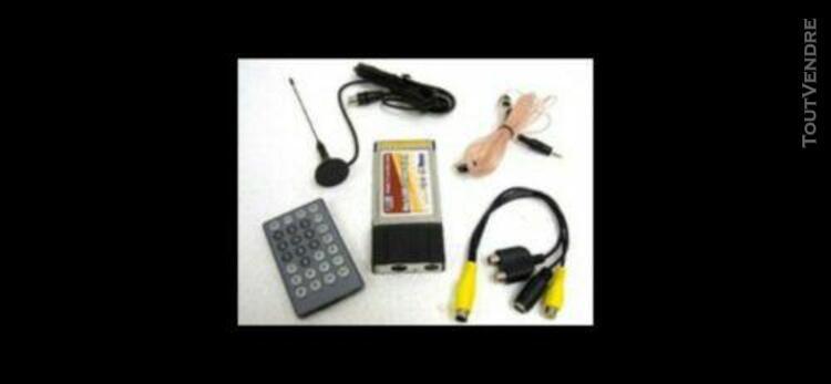 Récepteur tv et fm pour wpc portable format pcmcia