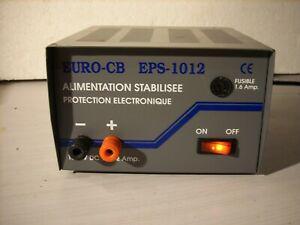 alimentation euro cb eps 1012 transfo cb 10 /12 ampères