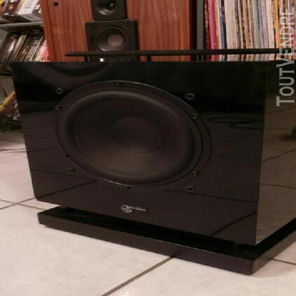 Caisson de basse audio pro sub b1.28 image 175 watts noir la