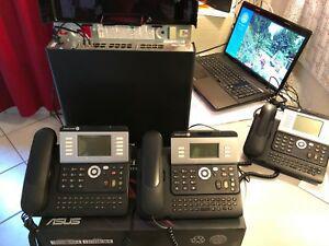Central standard téléphonique pabx alcatel omnipcx +