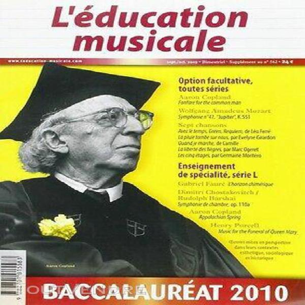 Education musicale supplt bac 2010