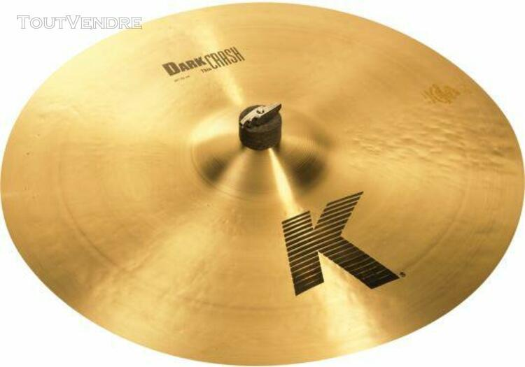 k0912 cymbale crash k dark thin 20