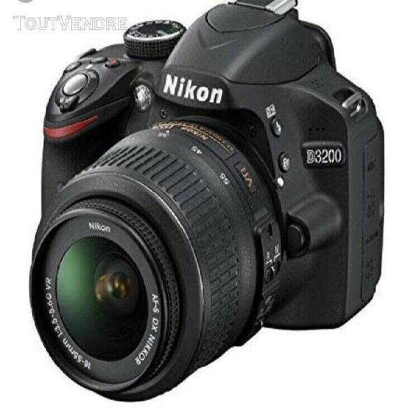 Nikon d3200 appareil photo numérique reflex 24.2 kit