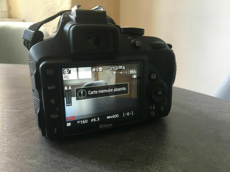 Nikon d3300 appareil photo numérique reflex + accessoires