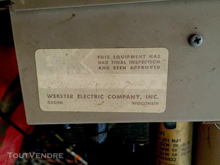 Rare webster tube compressor limiter altec abbey road emi ne