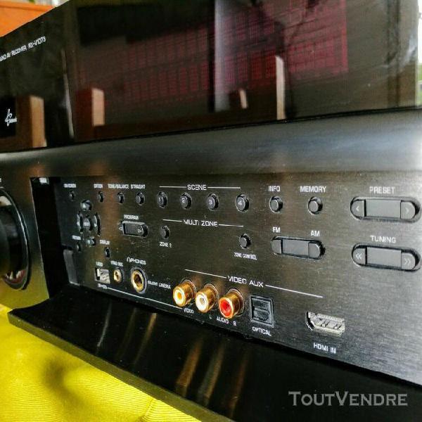 Yamaha rx-v 1073 - 7.2 home theater- 4k 1080p receiver -clon