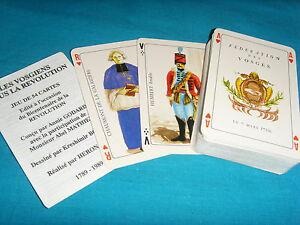 Anciens jeu de cartes à jouer les vosgiens révolution