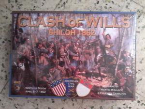 Clash of wills: shiloh 1862 superbe jeu card driven de