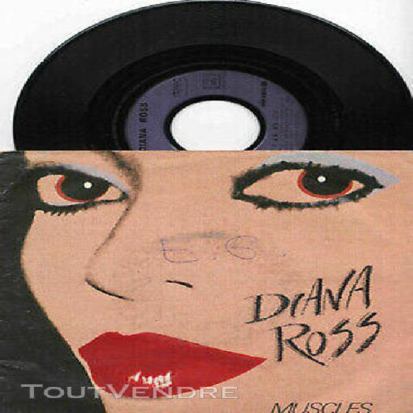 "Diana ross ► muscles - 45 tours / 7"" vinyle france 1982 *"
