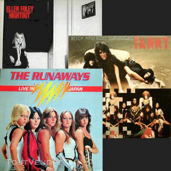 Ellen foley nightout + fanny rock and roll survivors + the r
