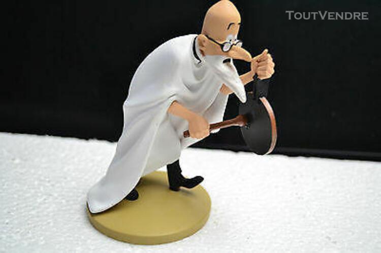 figurine resine le professeur phillippulus serie tintin